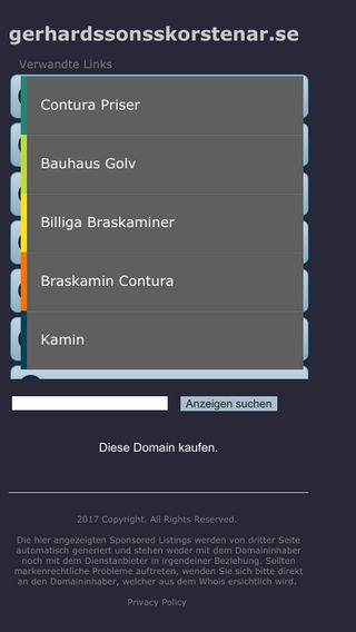 Mobile preview of gerhardssonsskorstenar.se
