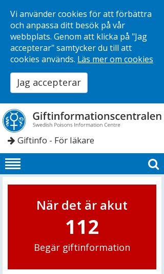 Mobile preview of giftinformation.se
