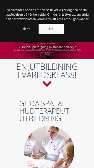 Mobile preview of gildaskolan.se