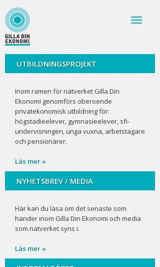 Mobile preview of gilladinekonomi.se