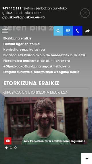Mobile preview of oarsoaldea.hitza.eus
