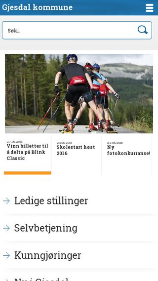 Mobile preview of gjesdal.kommune.no