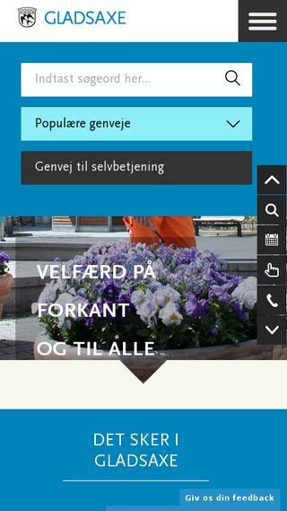 Mobile preview of gladsaxe.dk