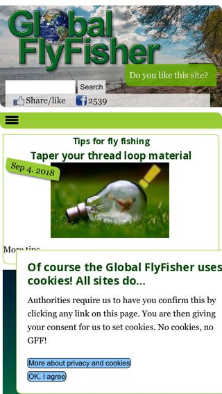 Mobile preview of globalflyfisher.com