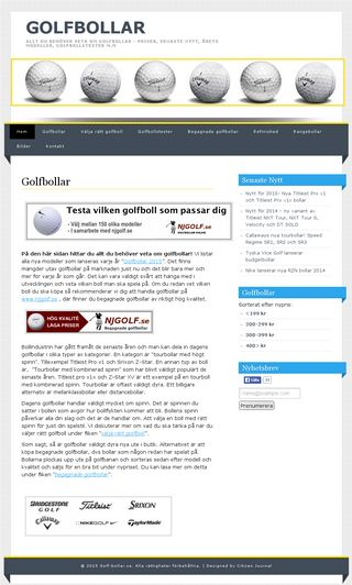 Mobile preview of golf-bollar.se