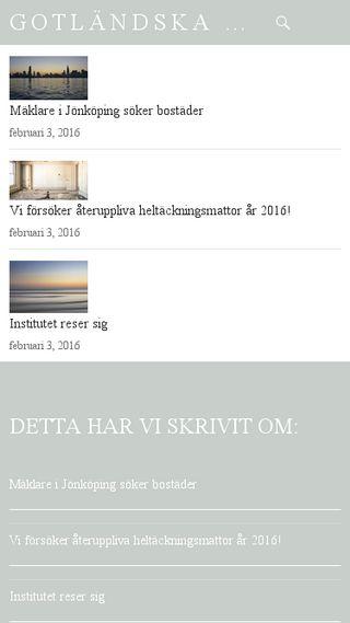Mobile preview of gotlandska.se