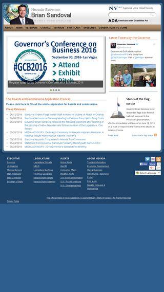 Mobile preview of gov.nv.gov