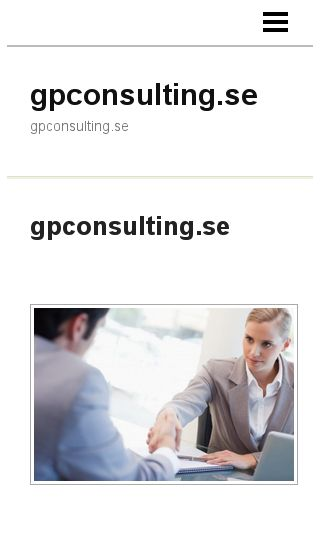 Mobile preview of gpconsulting.se