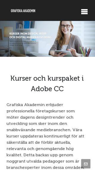 Mobile preview of grafiskaakademin.se