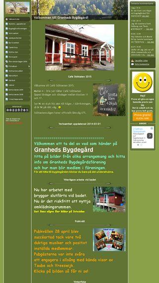 Mobile preview of granheds-bygdegard.se