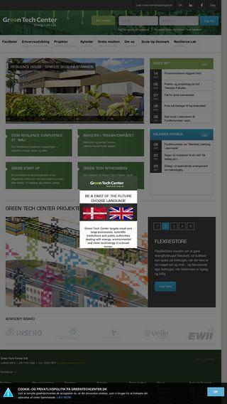 Mobile preview of greentechcenter.dk