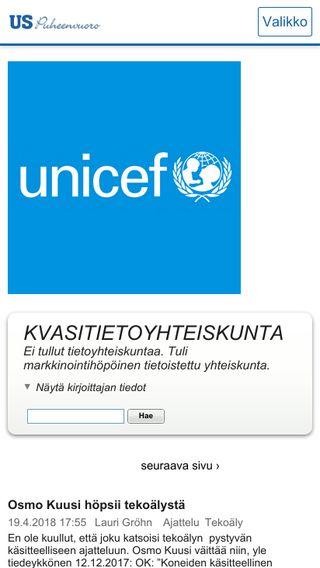 Mobile preview of grohn.puheenvuoro.uusisuomi.fi