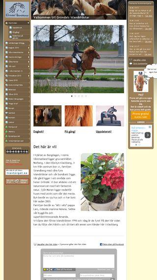 Mobile preview of grondalsislandshastar.se