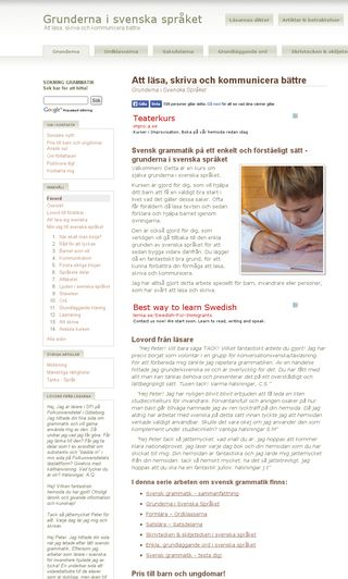 Mobile preview of grundenisvenska.se
