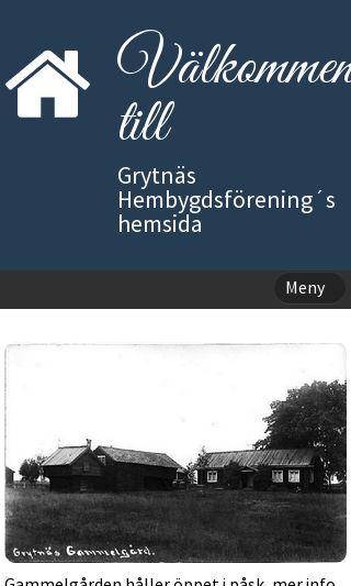 Mobile preview of grytnashembygdsforening.se