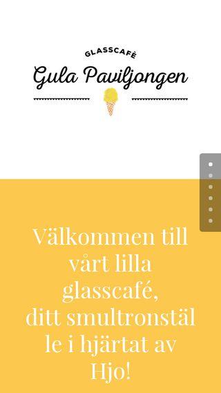Mobile preview of gulapaviljongen.se