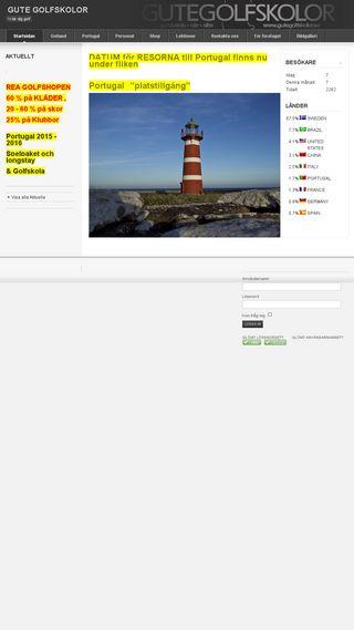 Mobile preview of gutegolfskolor.se
