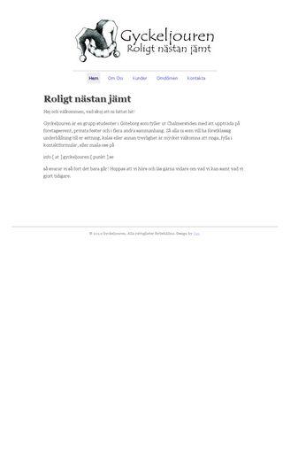 Mobile preview of gyckeljouren.se