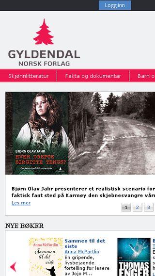 Mobile preview of gyldendal.no