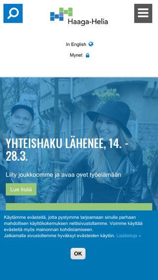 Mobile preview of haaga-helia.fi