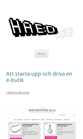 Mobile preview of haed.se