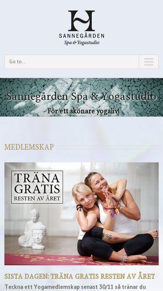 Mobile preview of hagabadetsannegarden.se