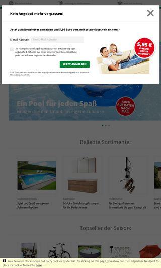 Mobile preview of hagebau.de
