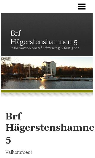 Mobile preview of hagerstenshamnen5.se