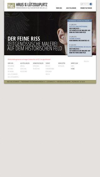 Mobile preview of hal-berlin.de