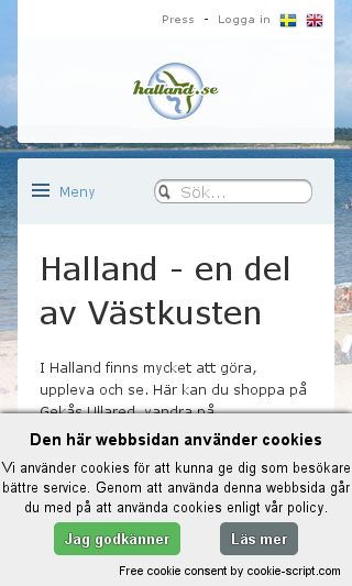 Mobile preview of mariascamping.se