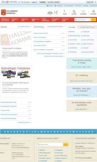 Mobile preview of hallsberg.se