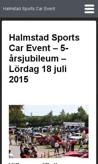 Mobile preview of halmstadsportscarevent.se