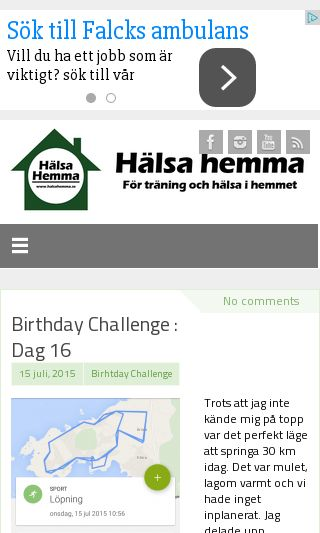 Mobile preview of halsahemma.se