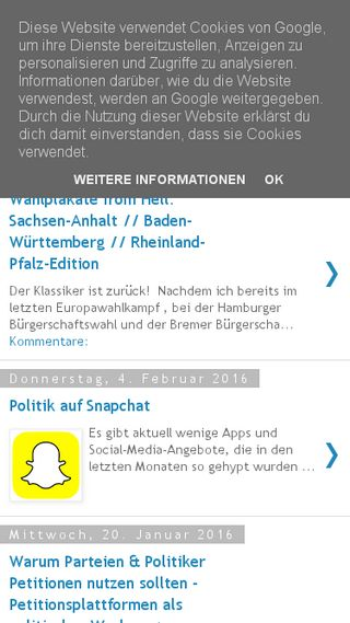 Mobile preview of hamburger-wahlbeobachter.de