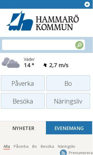 Mobile preview of hammaro.se
