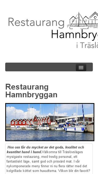 Mobile preview of hamnbryggan.se