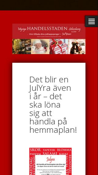 Mobile preview of handelisolvesborg.se