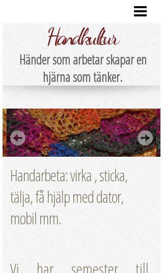 Mobile preview of handkultur.se