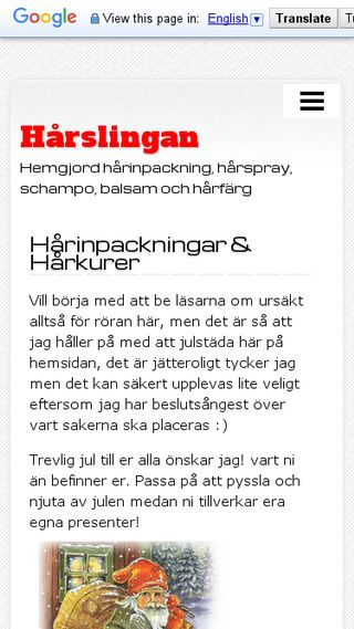 Mobile preview of har.n.nu