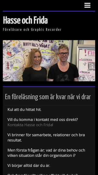 Mobile preview of hasseochfrida.se