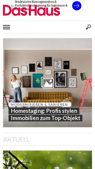 Mobile preview of haus.de