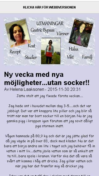 Mobile preview of hea71.bloggplatsen.se