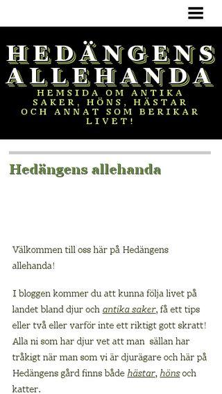 Mobile preview of hedangen.n.nu
