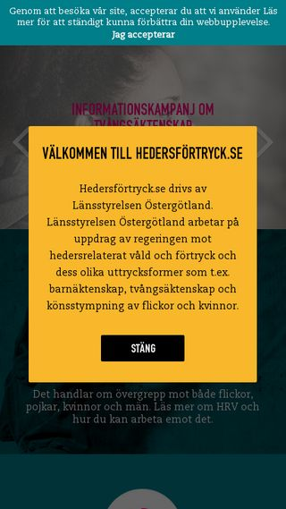 Mobile preview of hedersfortryck.se