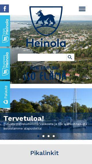 Mobile preview of heinola.fi