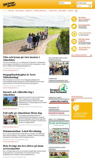 Mobile preview of helasverige.se