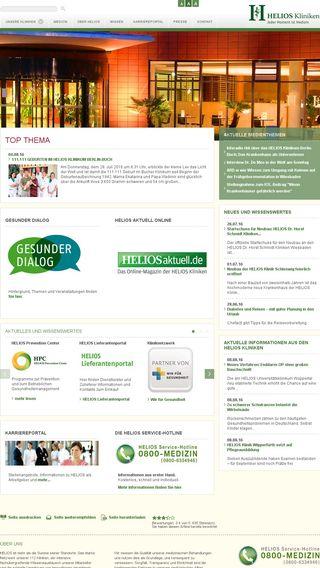 Mobile preview of smarthelios.de