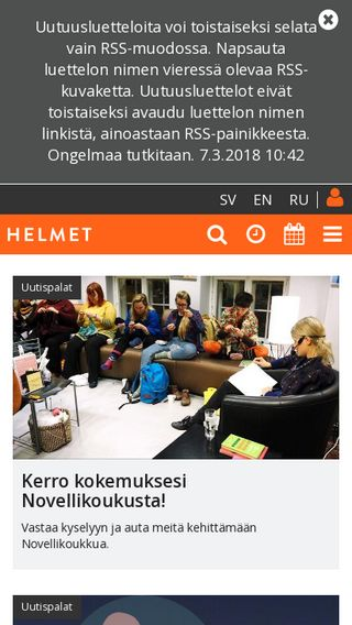 Mobile preview of helmet.fi