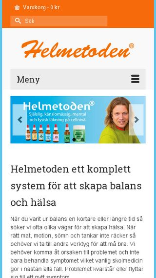 Mobile preview of helmetoden.se