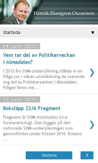 Mobile preview of henrikoscarsson.com